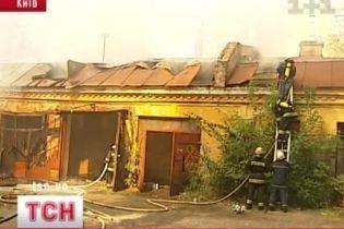 Вблизи посольства Норвегии произошел пожар (видео, обновлено)