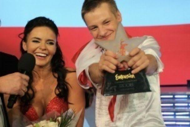 """Подкопаева и Костецкий заняли третье место на """"Евровиденье"""" (видео)"""