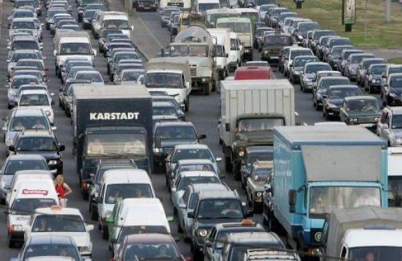 Дорожня пробка в Києві