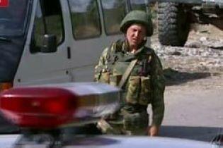 Возле российского штаба в Цхинвали произошел взрыв