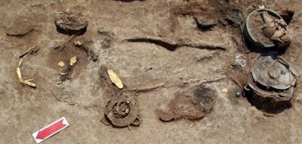 В Греции нашли драгоценности времен Македонского (фото)