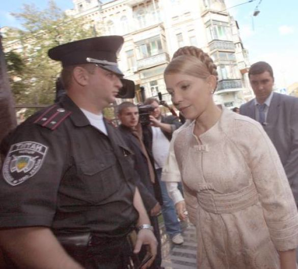 Тимошенко у Генпрокуратурі