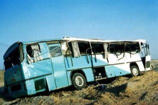 В ДТП автобуса в Китае погибло более 50 человек (видео)