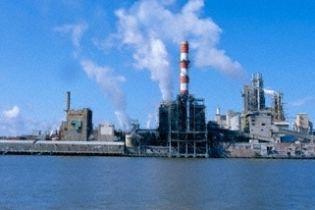 В Украине - спад промышленности