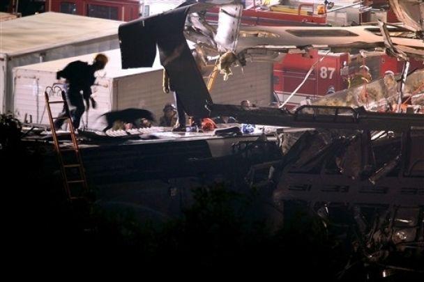 Авария поездов в США: более 100 пострадавших (видео)