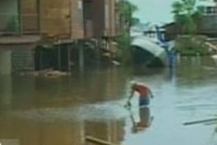 Дожди привели к наводнениям в Мексике (видео)
