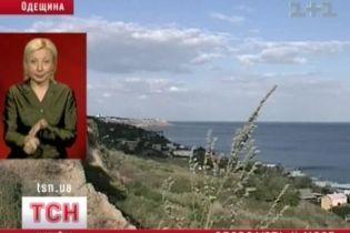 Одесса сползает в море (видео)
