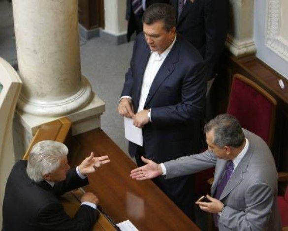 Янукович, Литвин, Колесников