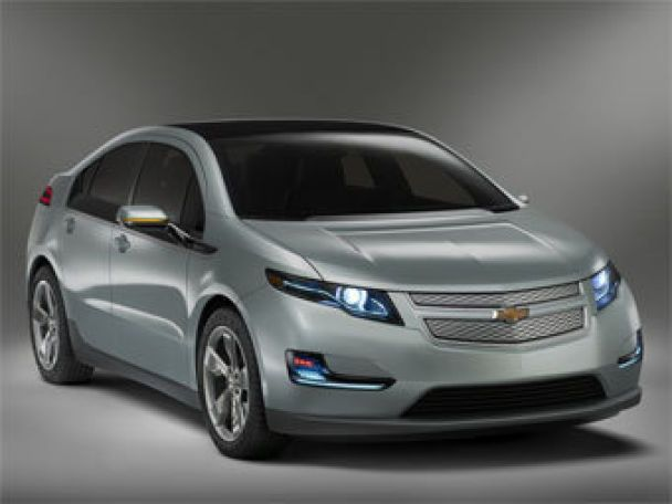GM представил серийную версию гибридного автомобиля Chevrolet Volt (видео)