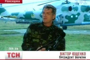 Ющенко: контрактной армии не будет (видео, обновлено)