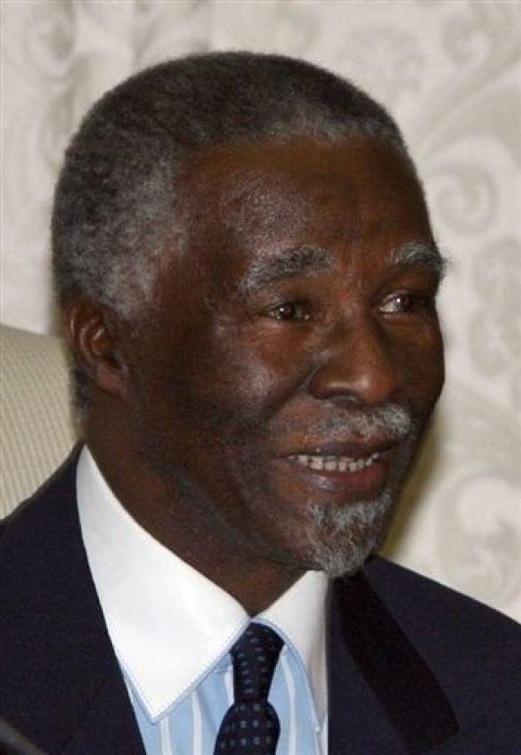 Табо Мбекі - президент ПАР