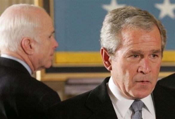 Маккейн Буш