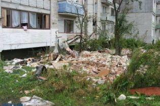 Дом после взрыва разбирать не будут (видео)