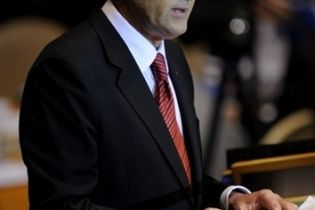 Ющенко вернулся с США (видео)