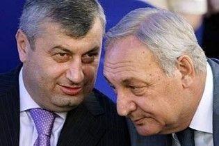 Багапш и Кокойты попросили у Лукашенко признание