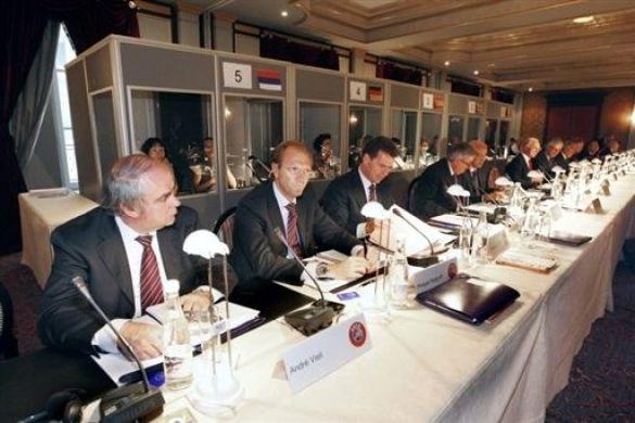 Засідання виконкому УЄФА
