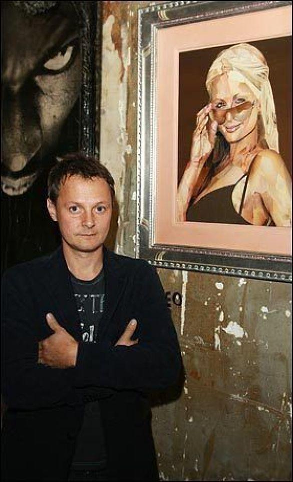 Джонатан Єо презентував портрет Періс Хілтон