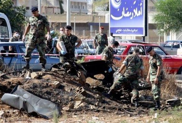вибух у лівані