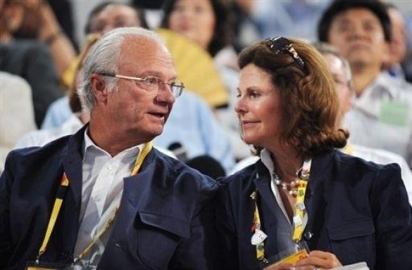 Король і королева Швеції