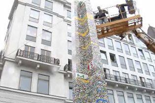 В Австрии построили наивысшую башню из Lego