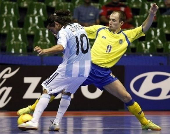 Футзал. Україна-Аргентина