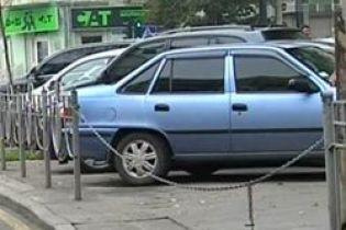 В Киеве введут зону парковки (видео)