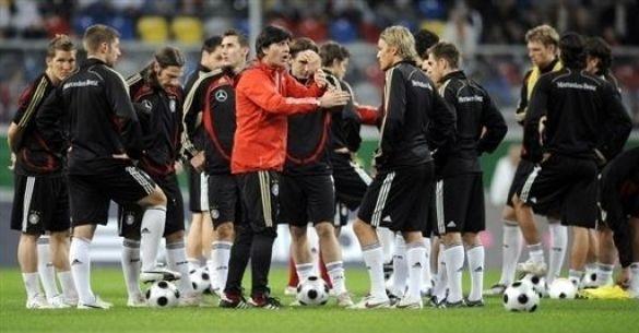Тренування збірної Німеччини