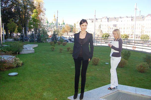 Куриленко в Киеве рассказала о Бонде (видео)