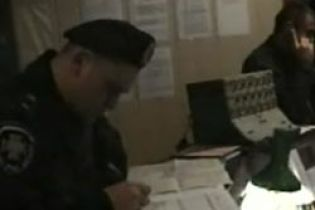 Псевдо-милиция устроила разбой (видео)