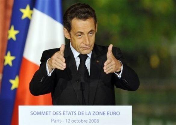 Саркозі на зустрічі у Парижі