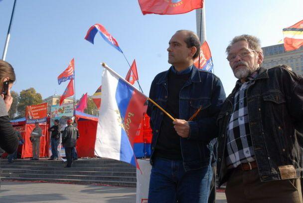 УПА, милиция, коммунисты и другие признаки праздника (фото)