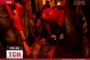 Взрыв в центре Киева. Погиб человек (видео)