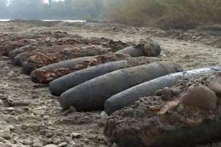 177 артснарядов времен Первой мировой нашли в Буковине (видео)
