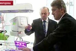 Ющенко за реформирование медицины (видео)