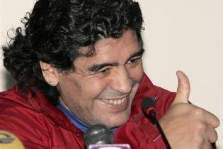 Мечта Марадоны - возглавить аргентинскую сборную (видео)