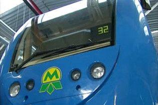 В киевском метро из-за неисправности поезда останавливалось движение