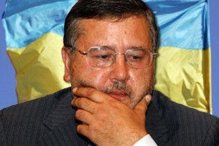 Гриценко отказался объединяться с Балогой