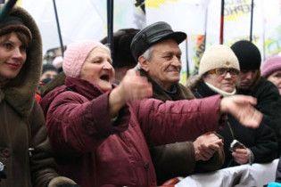 Под Киевсоветом митинг требуют отменить приватизацию двух рынков