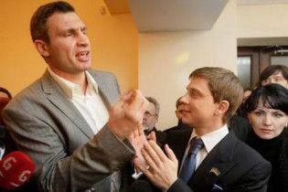 """Кличко грозится поотрывать уши """"ребятам Черновецкого"""""""