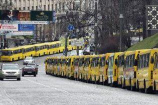 ГАИ хочет убрать маршрутки из центра Киева, заменив их троллейбусами