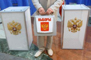 В России проходит единственный день голосования