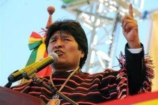 В Боливии Моралес во второй раз стал президентом