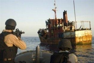 Французский эсминец захватил катер с сомалийскими пиратами