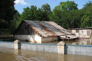В Украине подтоплено почти 2700 жилых домов