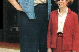 Умерла самай высокая женщина в мире