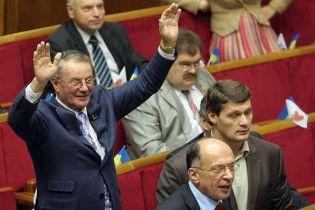 Двух народных депутатов не допустили к голосованию