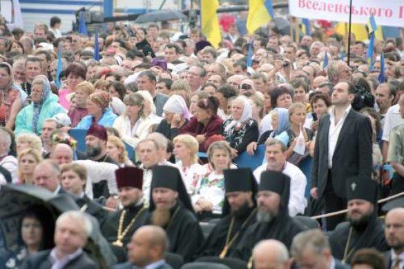 Святкування річниці хрещення Русі