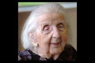 Умерла последняя женщина-ветеран Первой мировой войны