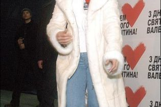 Юлии Тимошенко шьют шубу из шкурок нерожденных ягнят