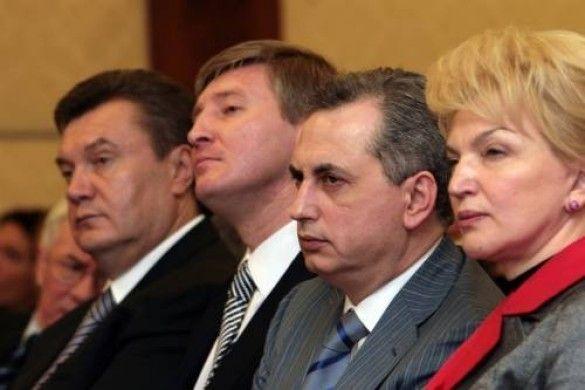 Янукович-Богатирьова-Колесніков-Ахметов